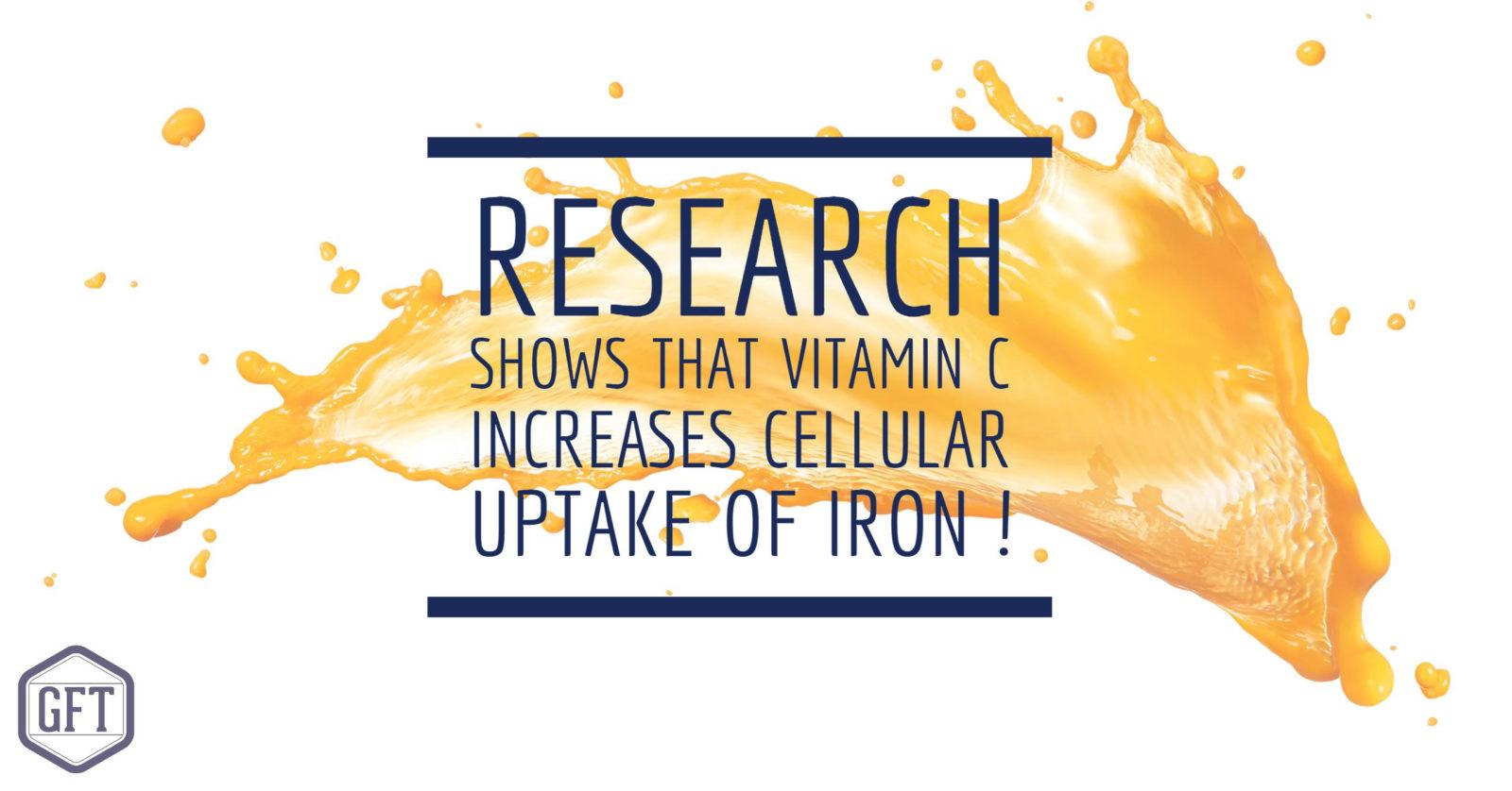 vitamin C, iron, iron absorption